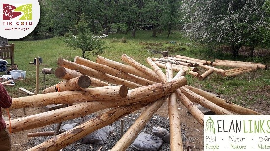 Another 12 weeks of roundhouse building at the Elan Valley